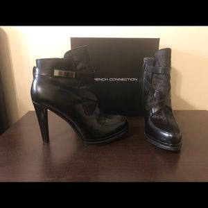 NIB Black French Connection Boots